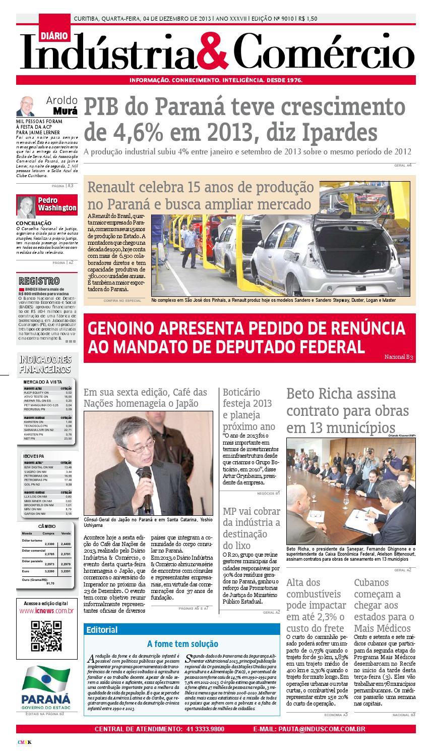aa33919818224 Diário Indústria Comércio by Diário Indústria   Comércio - issuu