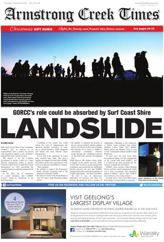 424e6c5a3708 Armstrong Creek Times: December 5, 2013 by Surf Coast News Australia ...