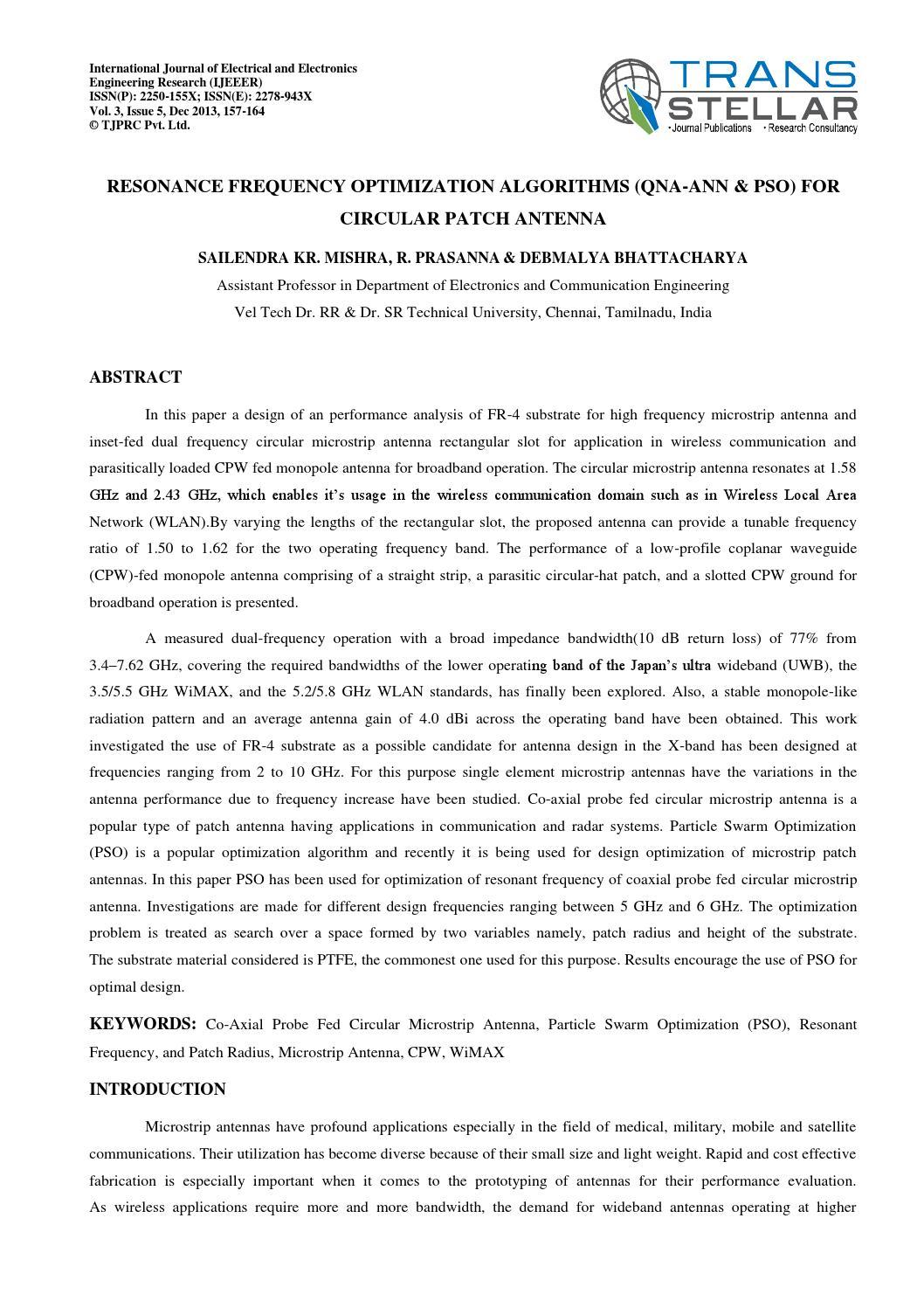 19 resonance frequency full by Transtellar Publications - issuu