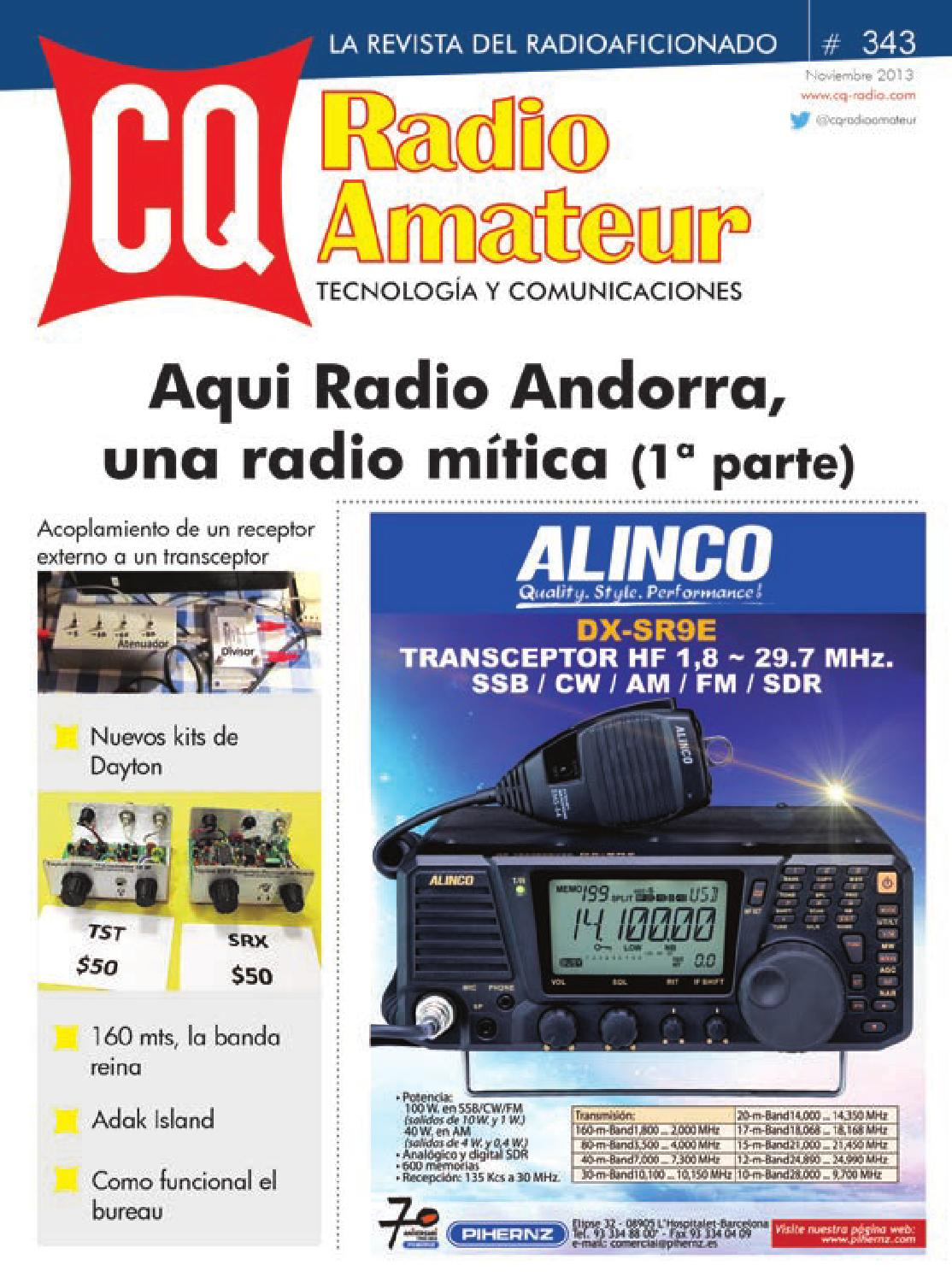 Cq Radio - N U00ba 343 By Versys Ediciones T U00e9cnicas  S L