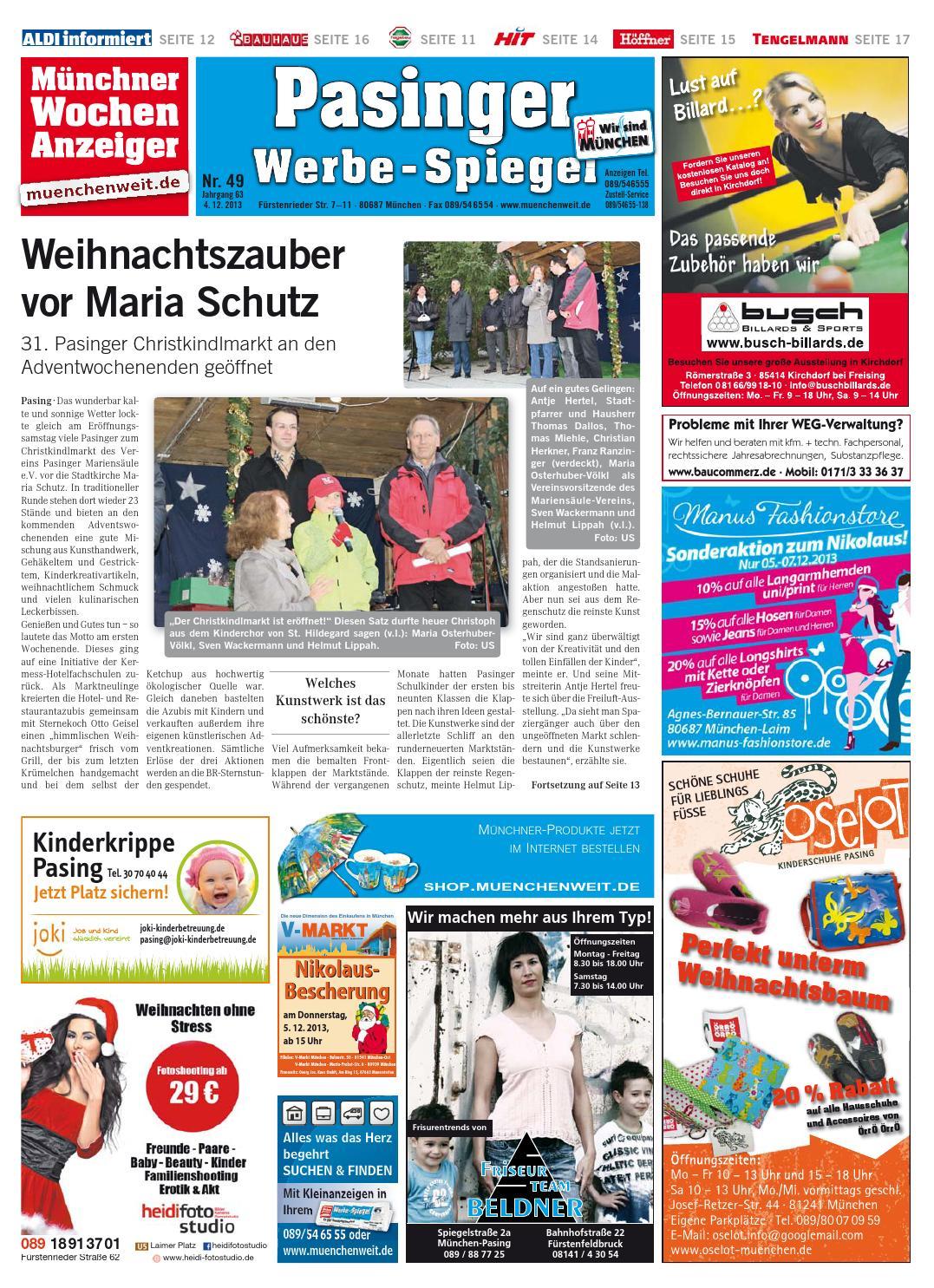 Der Sitzmacher kw 49 2013 by wochenanzeiger medien gmbh issuu