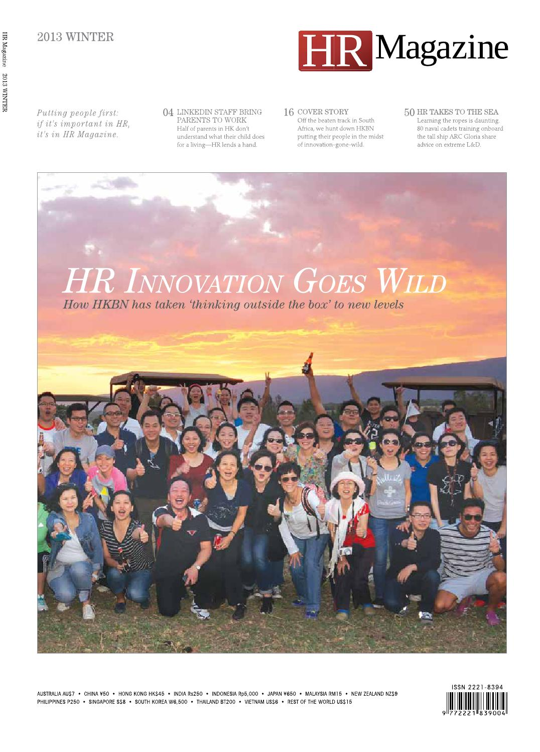 HR Magazine Winter Issue 2013 by HR Magazine - issuu