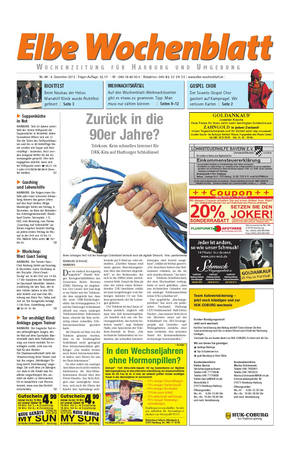 Harburg KW49-2013 by Elbe Wochenblatt Verlagsgesellschaft mbH & Co ...