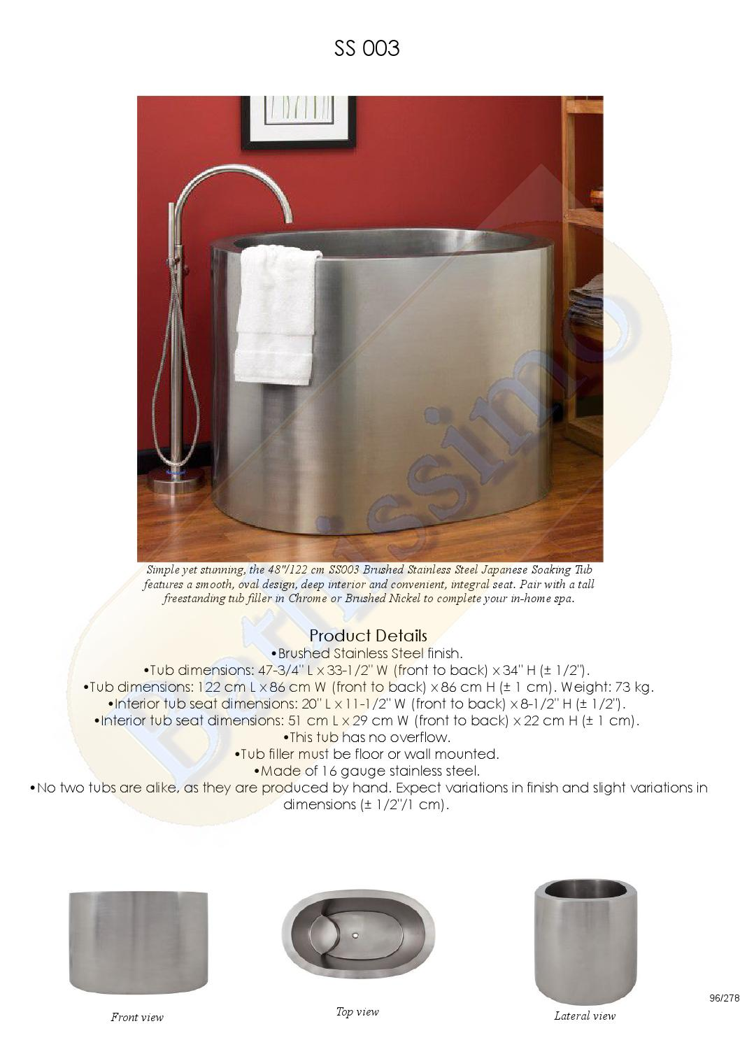 Bathissimo Copper Tubs By Compania Ballenita 98 S L Issuu