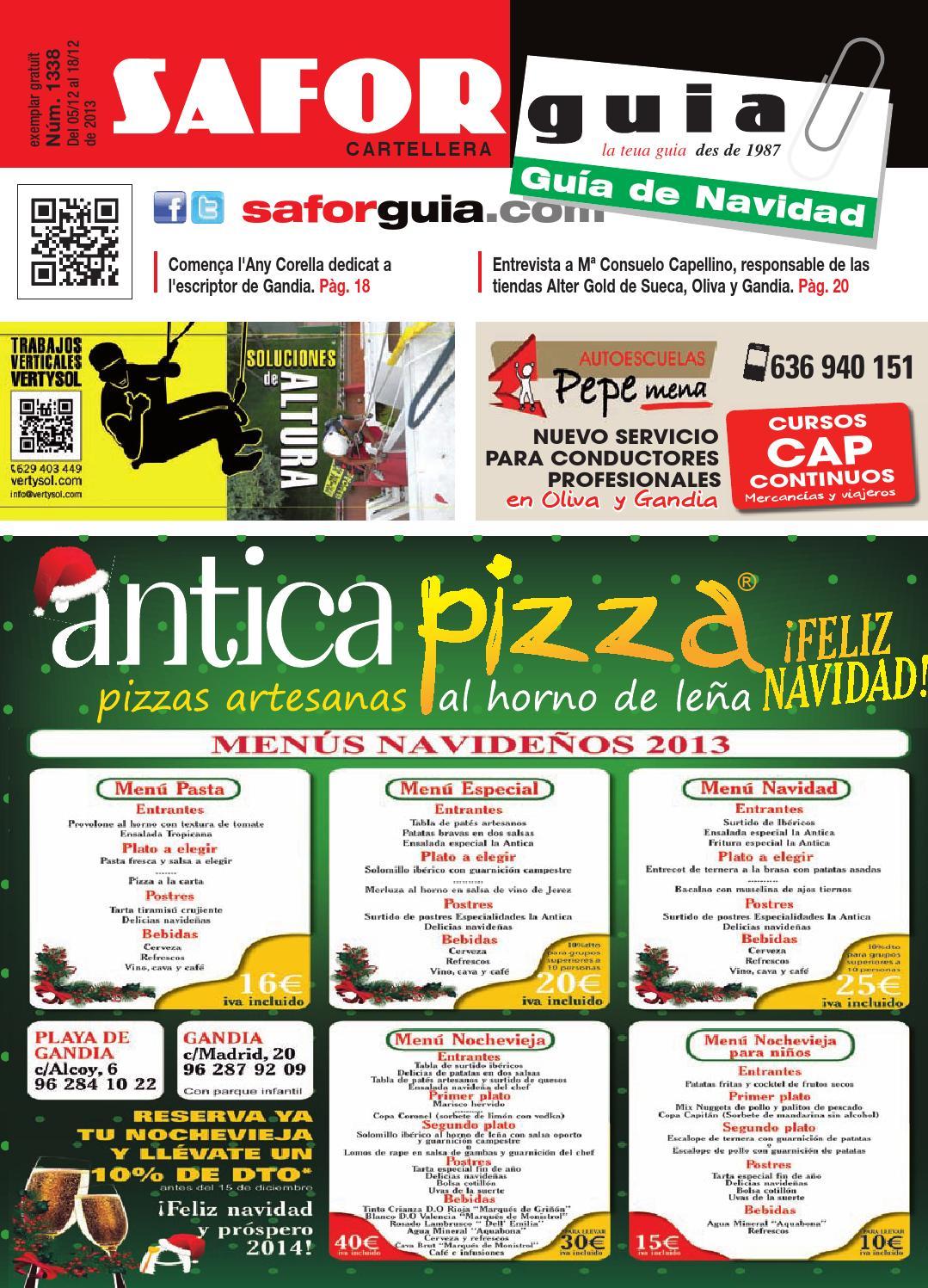 Publicaci N 5 Al 18 De Diciembre De 2013 By Saforguia  # Muebles Peiro Quart De Poblet