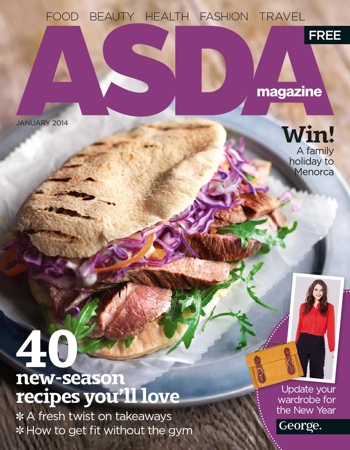 Asda magazine february 2013 by asda issuu asda magazine january 2014 solutioingenieria Images