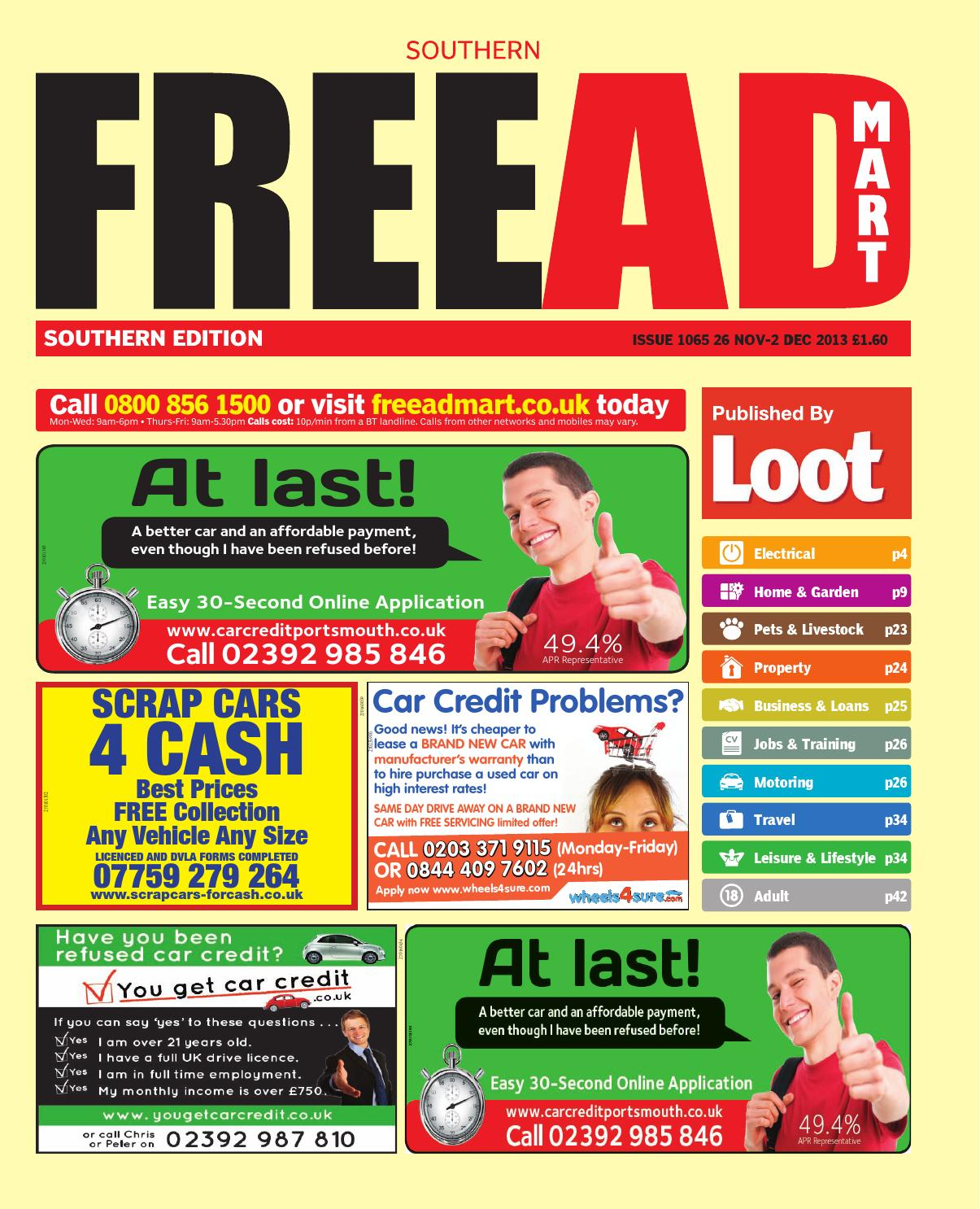 new arrival 3447b 82ac2 Free Ad Mart Southern, 26th November 2013 by Loot - issuu