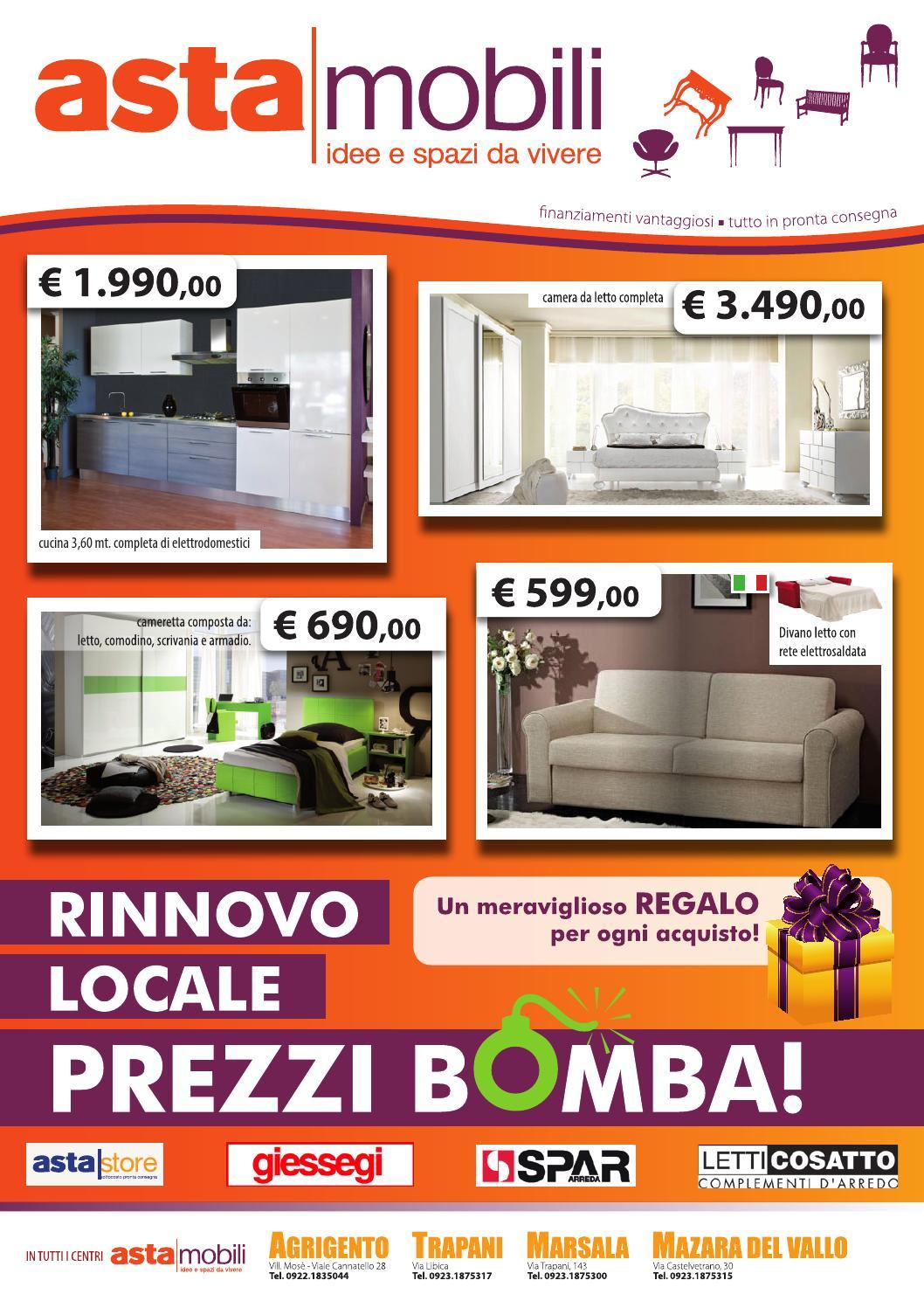 Prezzi bomba 2013 by asta mobili sicilia issuu - Asta mobili cucine prezzi ...