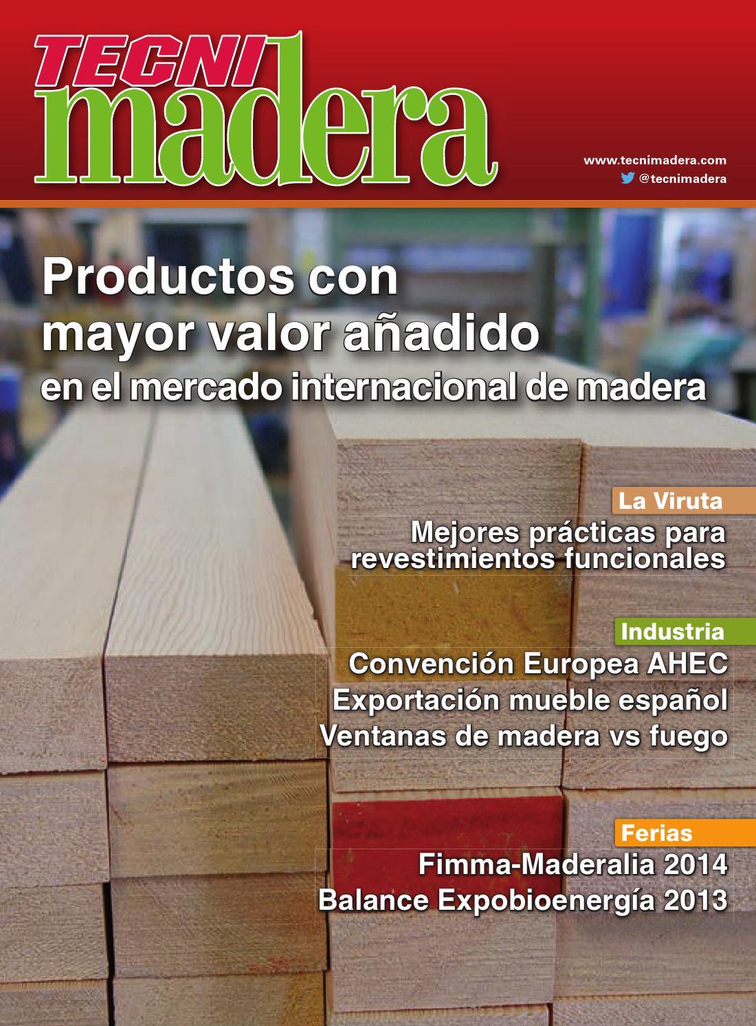 Tecnimadera 212 by Digital Newspapers S.L. - issuu