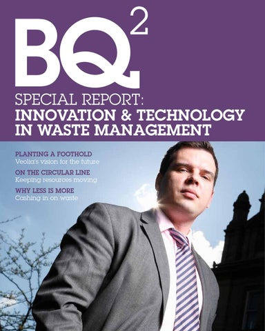 Innovation and Technology in Waste Management