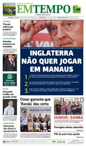 EM TEMPO - 4 de dezembro de 2013 by Amazonas Em Tempo - issuu e0b0b8a75a