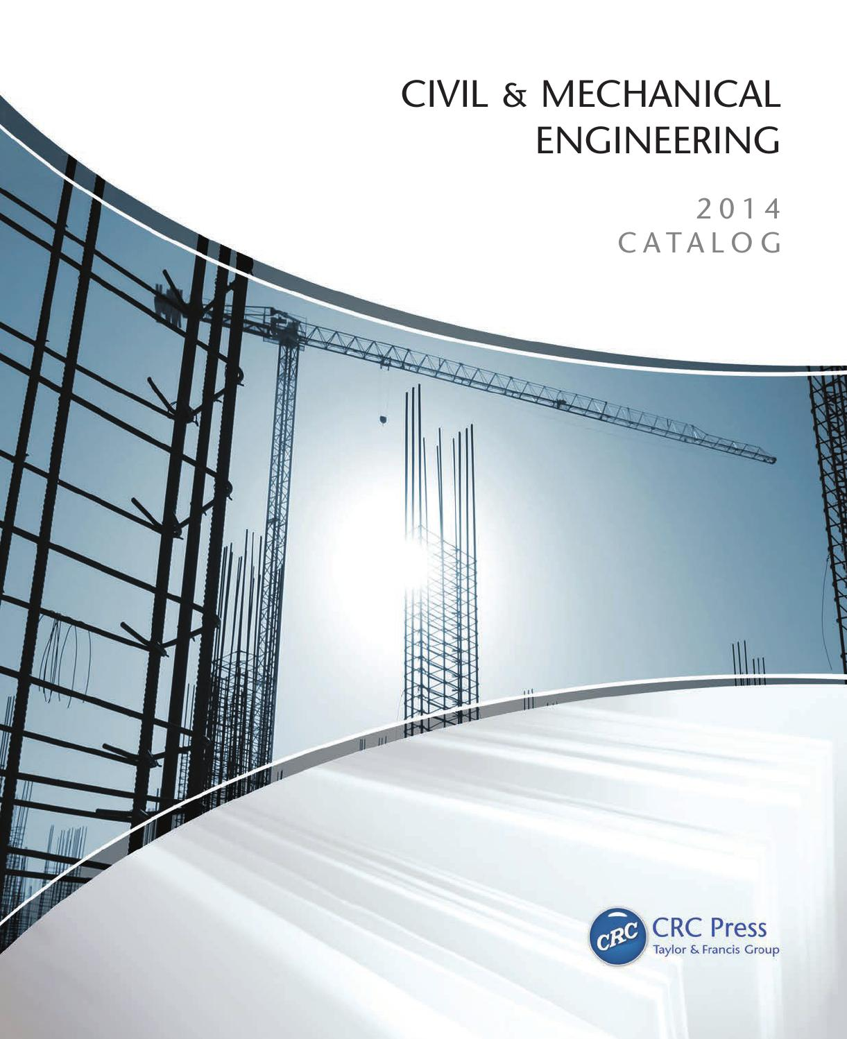 Civil Mechanical Engineering By Crc Press Issuu