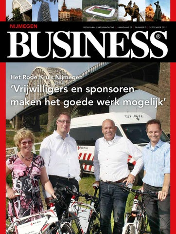 2012 - Nijmegen Business 5 - September by Nijmegen Business - issuu