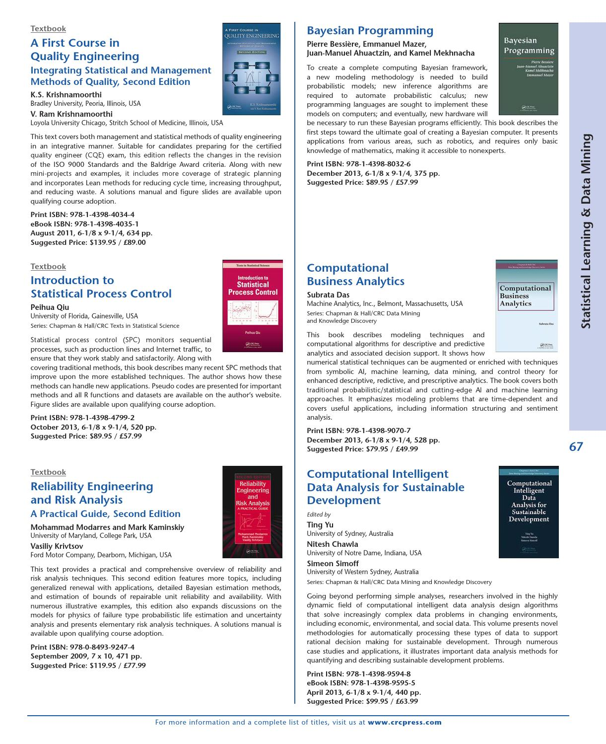 statistical techniques for risk analysis 5 most important methods for statistical data analysis once you master these fundamental techniques for statistical data analysis data analysis (47) risk.