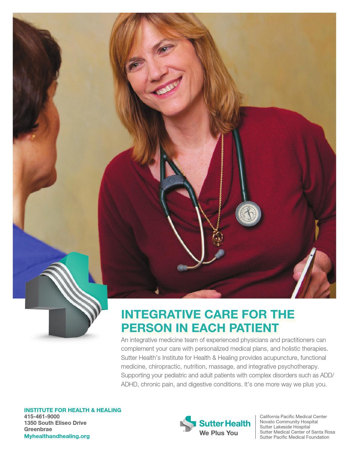 Marin Medicine Winter 2014 by Sonoma County Medical