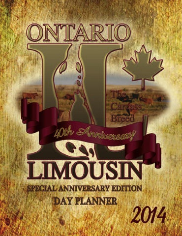 Ontario Limousin Association by Coyote Publishing Ltd  - issuu
