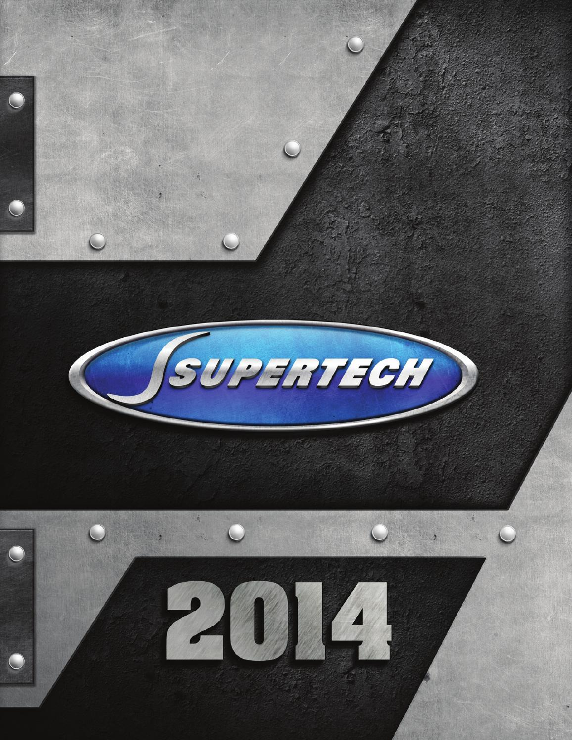 SUPERTECH P4-DU875-P1 4 Piston; For All Motor//Nitrous Applications; For use with