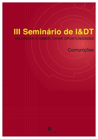 Comunicacoes iii seminario idt vol2 by c3i ipp issuu page 1 fandeluxe Choice Image