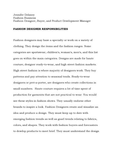Fashion journal 12 by Jennifer Delaney's Fashion Journal - issuu