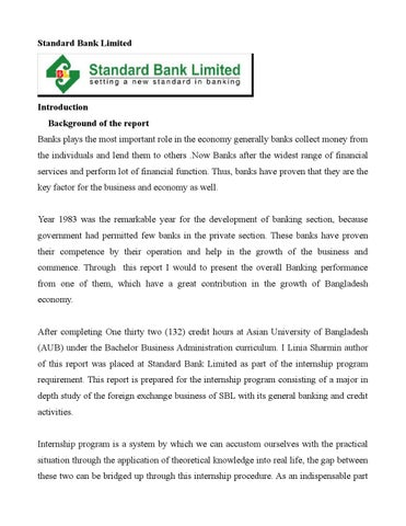 standard bank ltd essay Introduction to chartered semiconductor manufacturing potter smith, chartered accountants quality analysis of the balance sheet of premier bank limited and jamuna bank limited standard chartered the aquisition of commerce bank by td bank north zubair associates & co chartered accountants standard englsih standard 12 standard oil 1911 chartered .