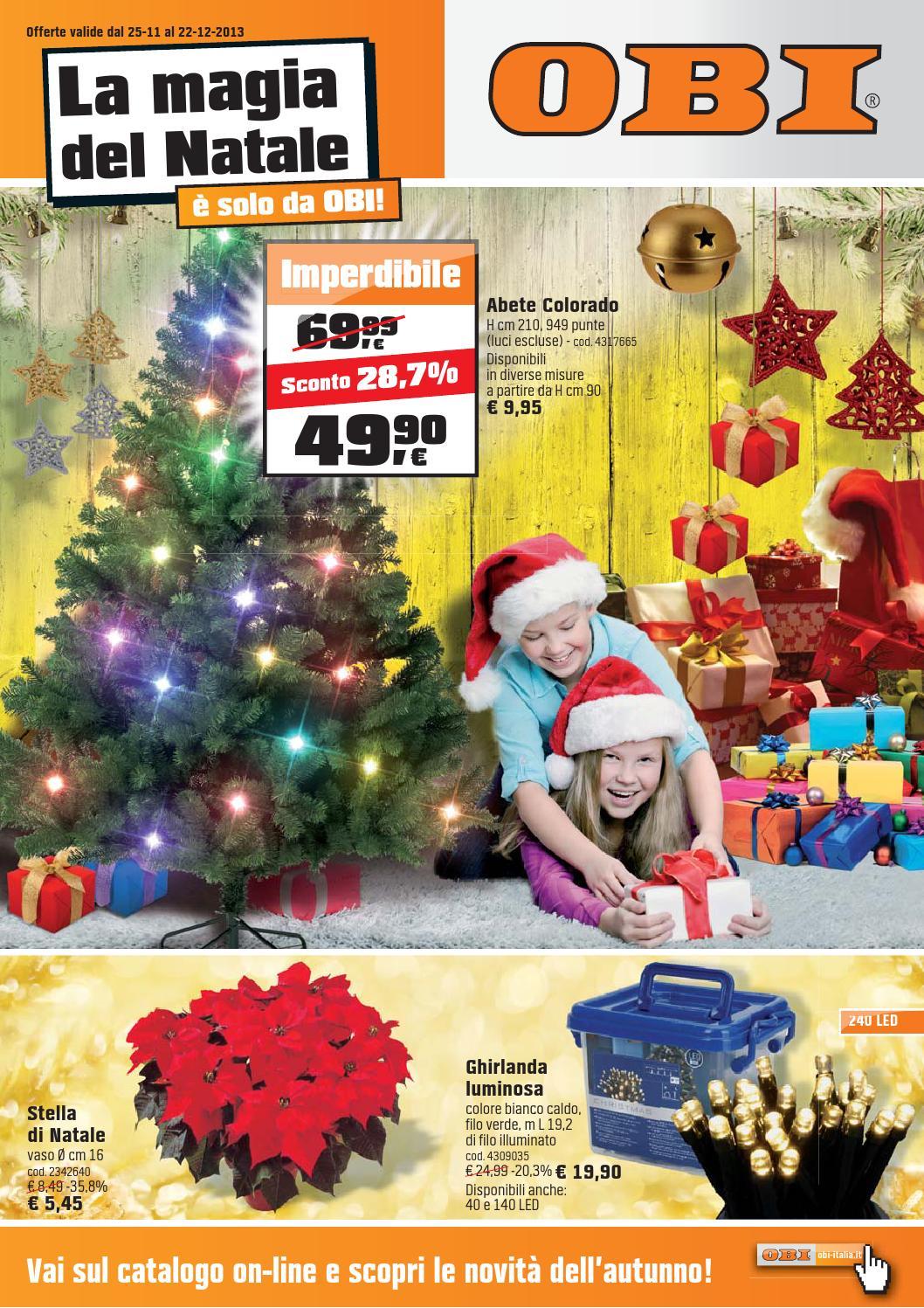Volantino Obi Dal 25 Novembre Al 22 Dicembre 2013 By Volantinofacile