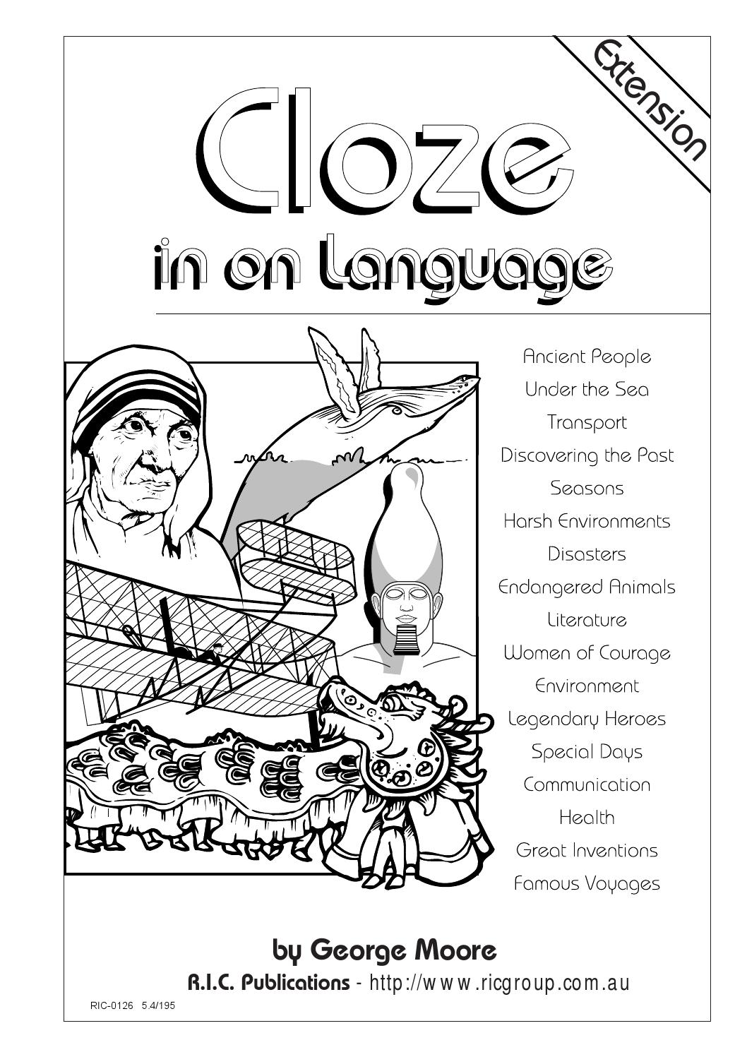 Cloze in on Language: Ages 12-14 by Teacher Superstore - issuu