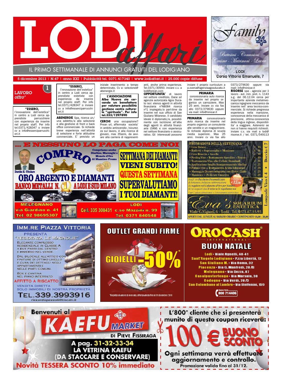 Ln Gazebo E Cuscino Srl.Lodi Affari 5 Dicembre By Lodi Affari Issuu