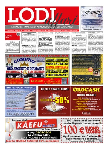 100% authentic f4cd5 65a2e Lodi Affari 5 Dicembre by Lodi Affari - issuu