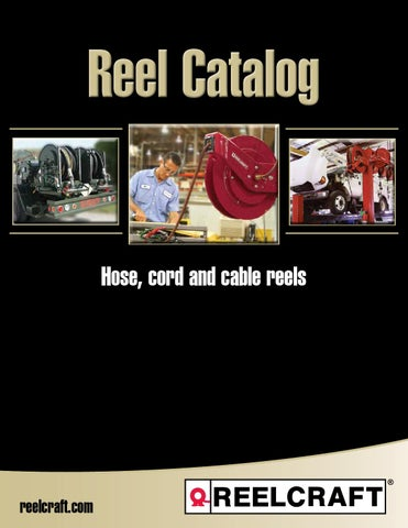 Reelcraft 80000 Series Spring Retractable Hose Reel For 3//8 X 100 Hose Package Size 1 Each