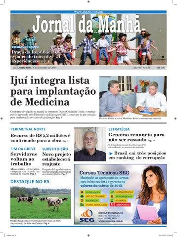 d3653c403 Jornaldamanhã4 12 2013 by Classificados Jornal da Manhã - issuu