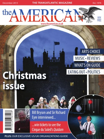 bbf9f6d4d The American Issue 728 December 2013 by Blue Edge Publishing Ltd ...