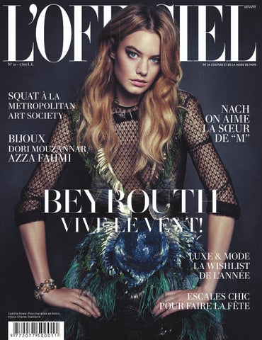 L Officiel-Levant, December 2013 January 2014 Issue 41 by L Officiel ... 58981c38dd8