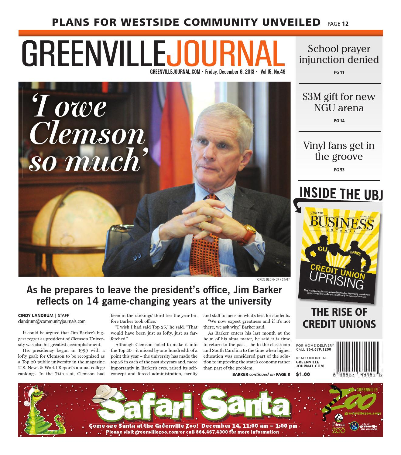 6, 2013 Greenville Journal by Community Journals - issuu