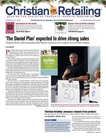 Christian retailing december 2013 by charisma media issuu page 1 fandeluxe Gallery