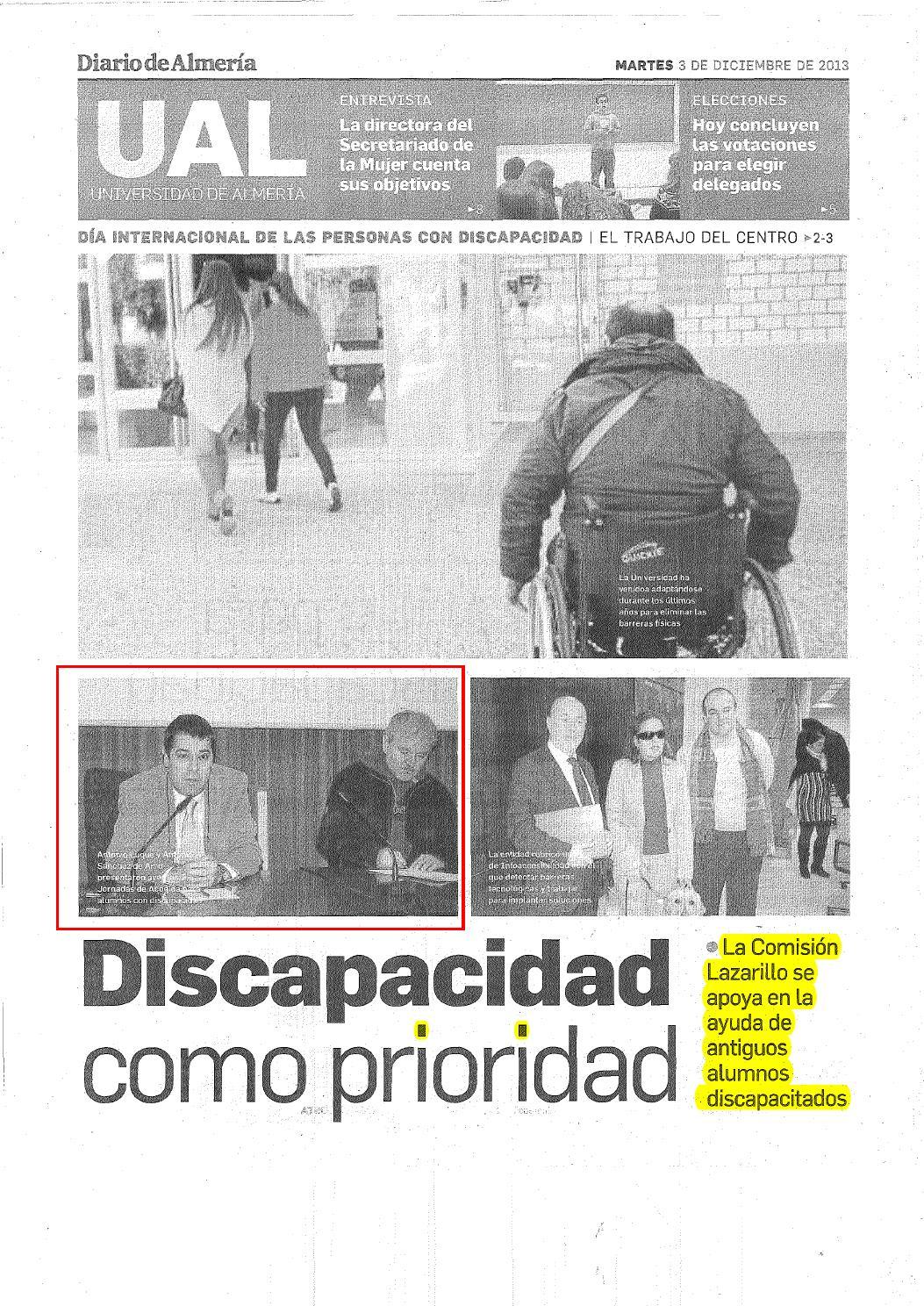 Dossier De Prensa Discapacidad 3 Y 4 Diciembre By Asociaci N  # Muebles Lao Orduna