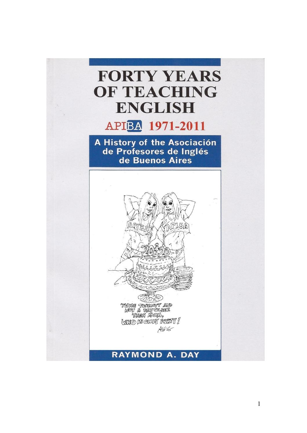 Day, r a 2013 forty years of teaching english apiba 1971 2011 a ...
