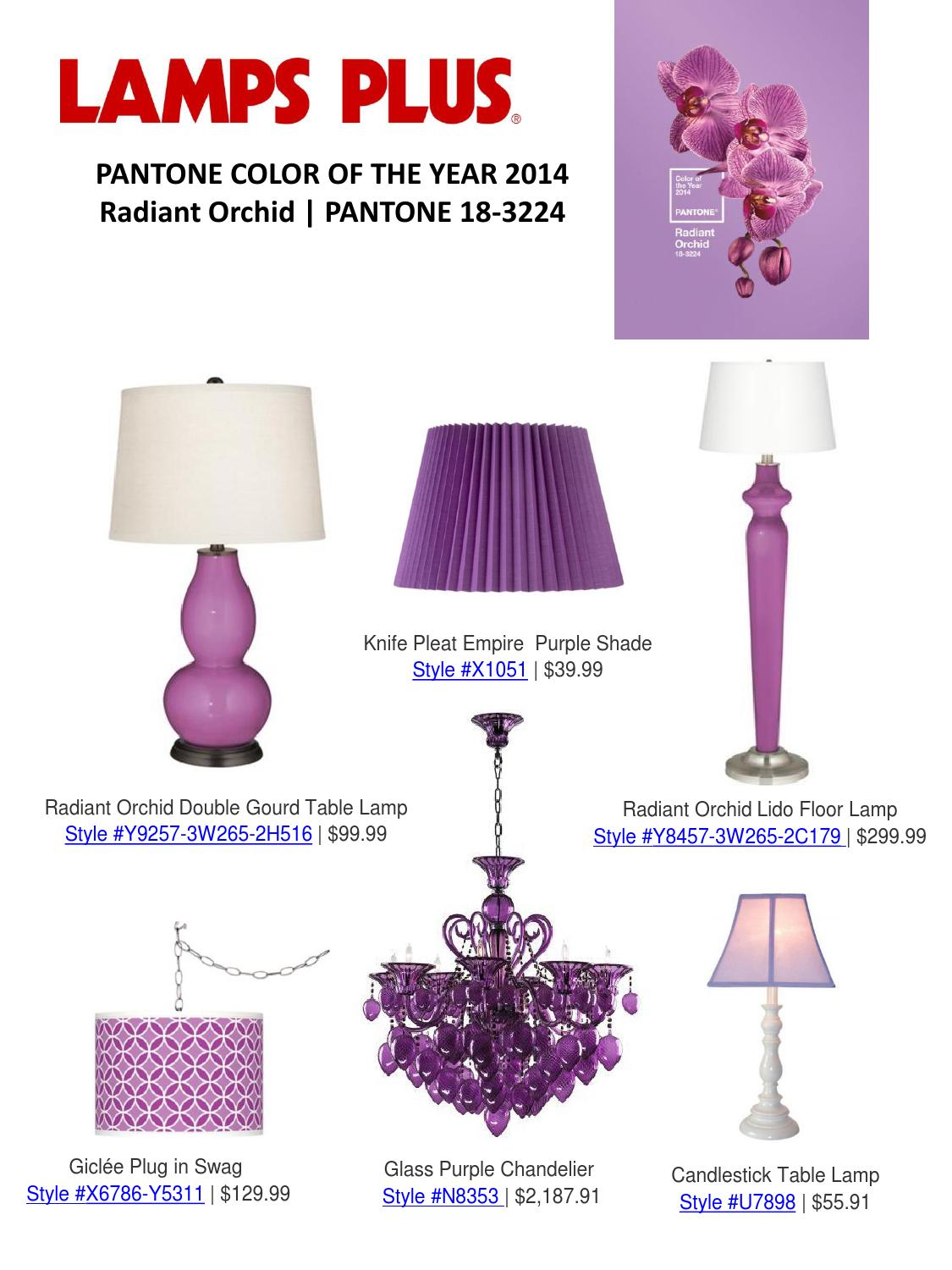 2014 Pantone Color Of The Year By Lamps Plus Issuu