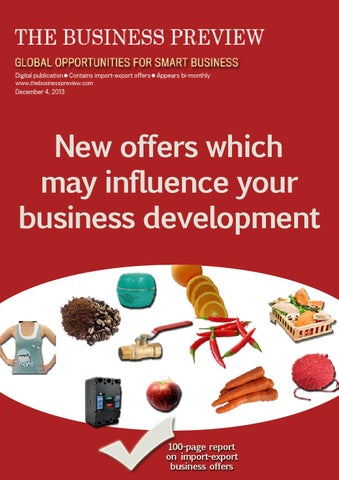 THE BUSINESS PREVIEW No  43 by THE BUSINESS PREVIEW - issuu