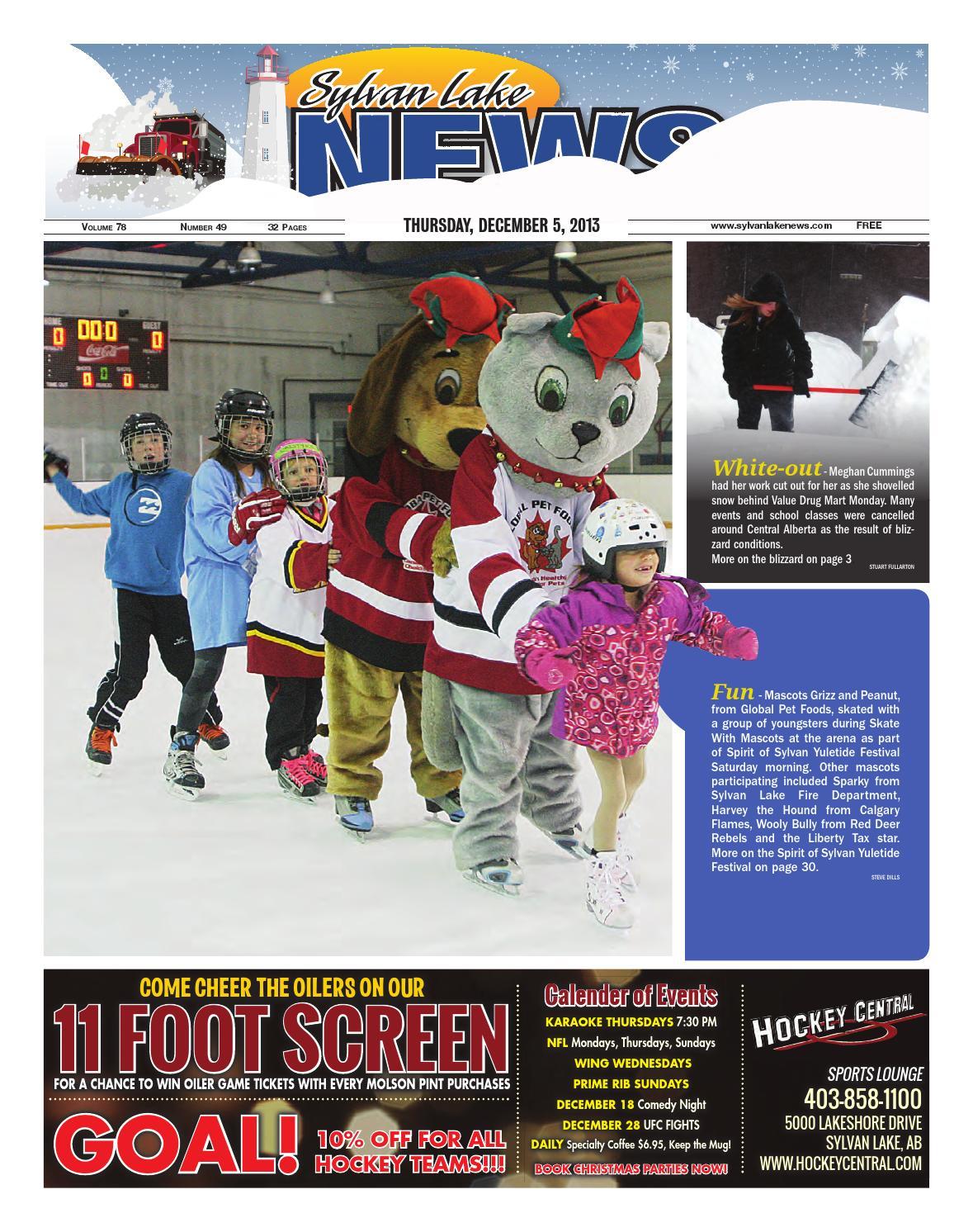 Sylvan Lake News December 05 2013 By Black Press Issuu Snowman Pen Refill Mr 7 For V 1 2 10 Mm Red 12 Pcs Pack