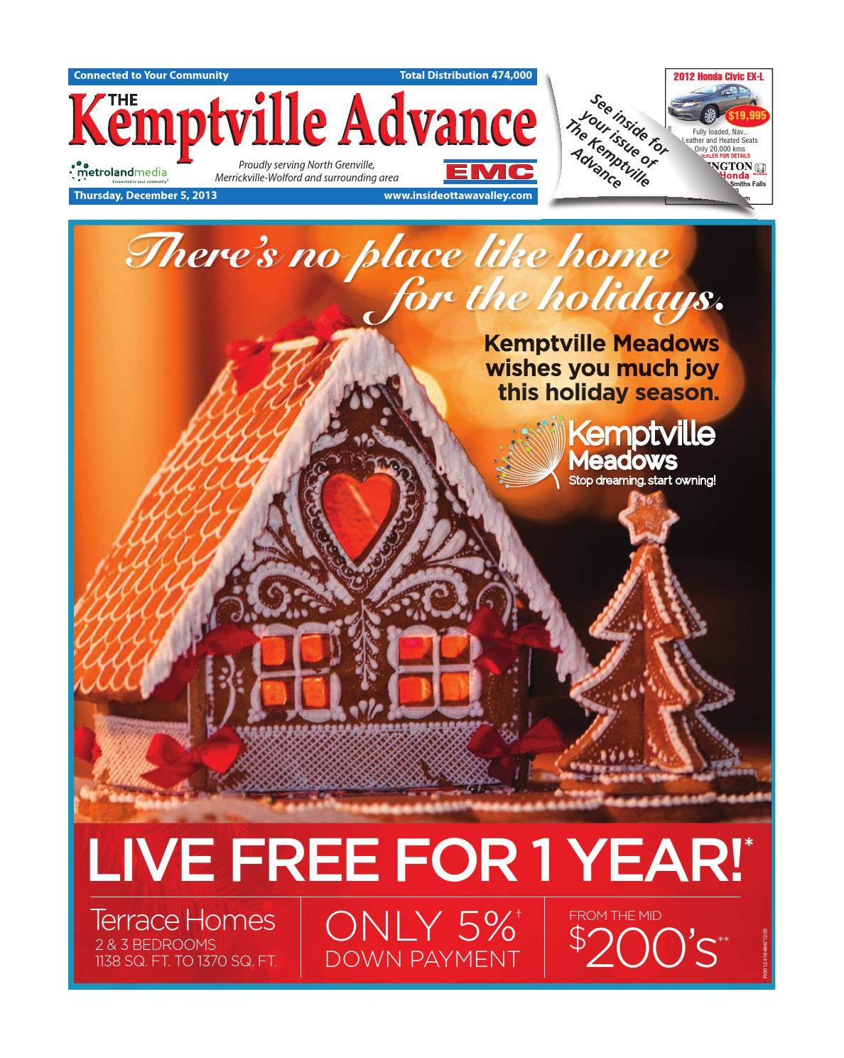 1fa68ba7f7b6 Kemptville120513 by Metroland East - Kemptville Advance - issuu