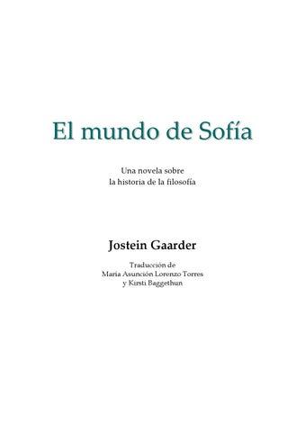 Gaarder jostein - El Mundo de Sofia by maria - issuu