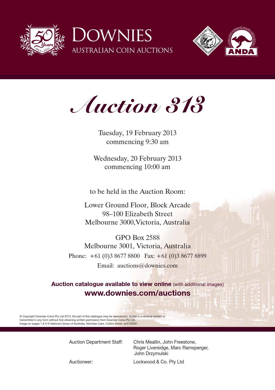 Auction 313 By Downies Issuu Nicholas Keith Elizabeth 36mm Nk8106