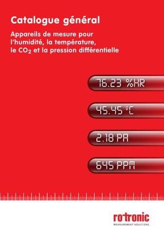 appareils de mesure pour l humidit la temp rature le co2 et la pression diff rentielle by. Black Bedroom Furniture Sets. Home Design Ideas