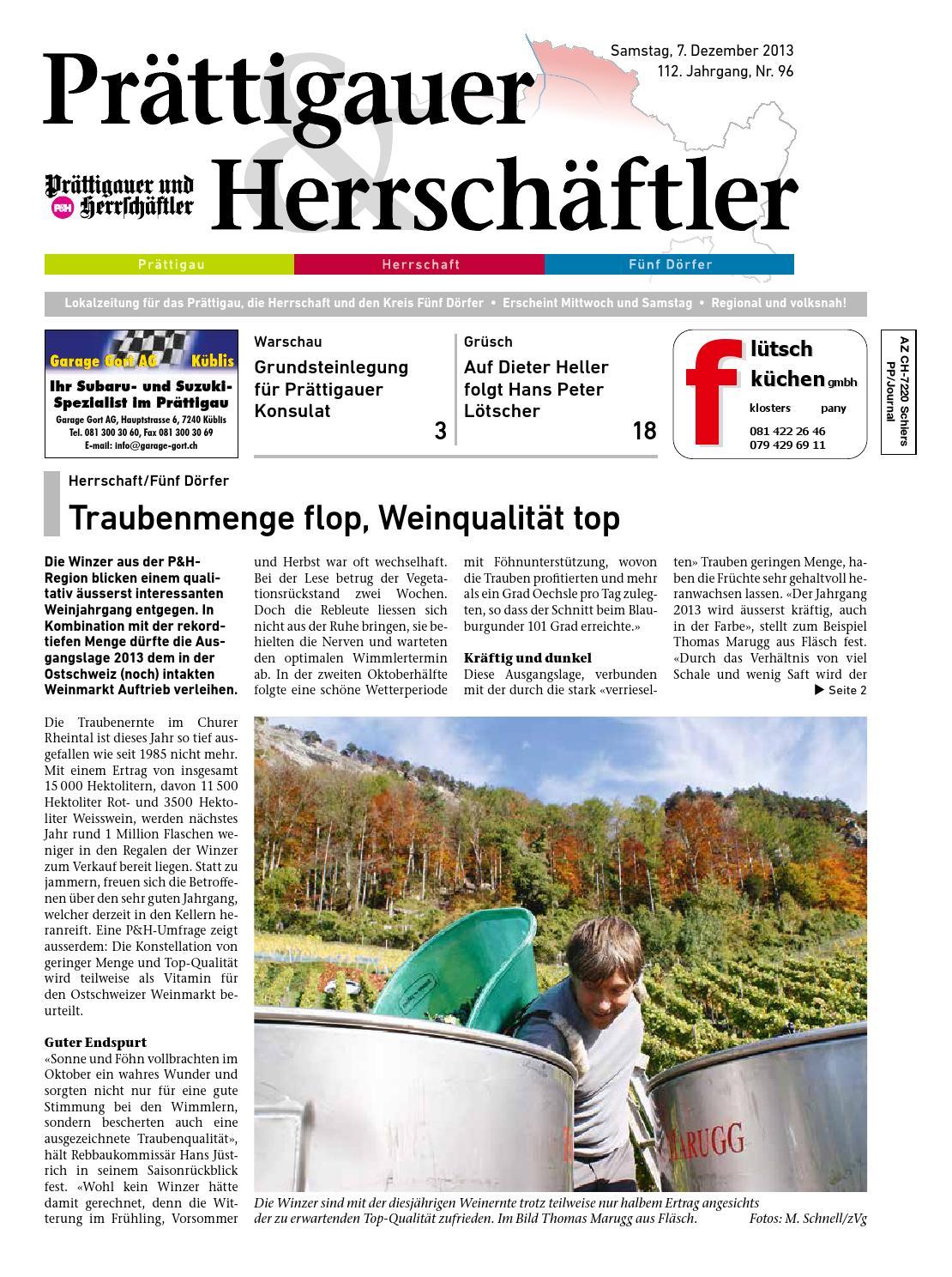 P&h sa 07 12 13 nr96 low by AG Buchdruckerei Schiers / Verlag ...