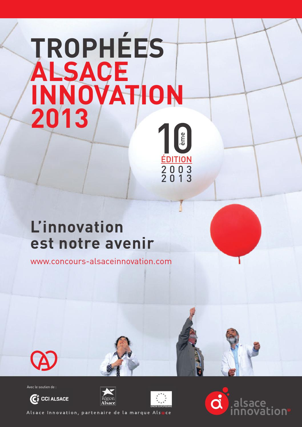 Trophées Alsace Innovation 2013 By Agence Vo Issuu