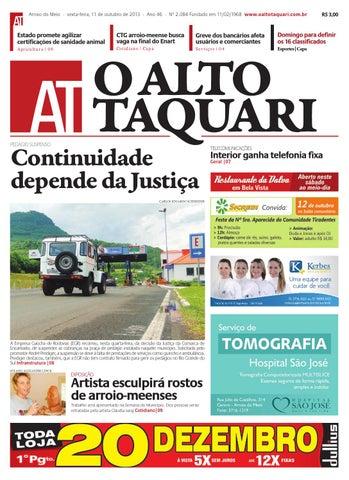 Jornal O Alto Taquari - 11 de outubro de 2013 by Jornal O Alto ... a3db7d1f934