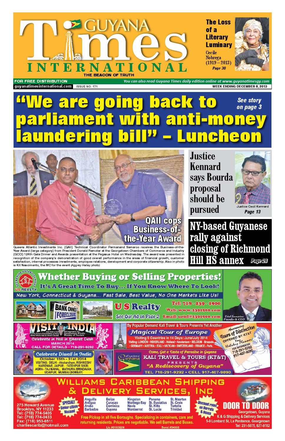 88d8442eb Guyana Times International by Gytimes - issuu