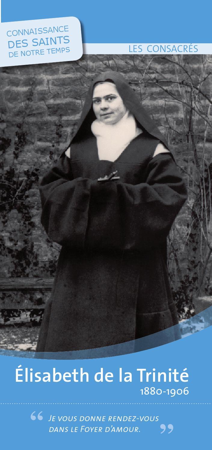 Soeur Elisabeth de la Trinité - Saint-Rémi