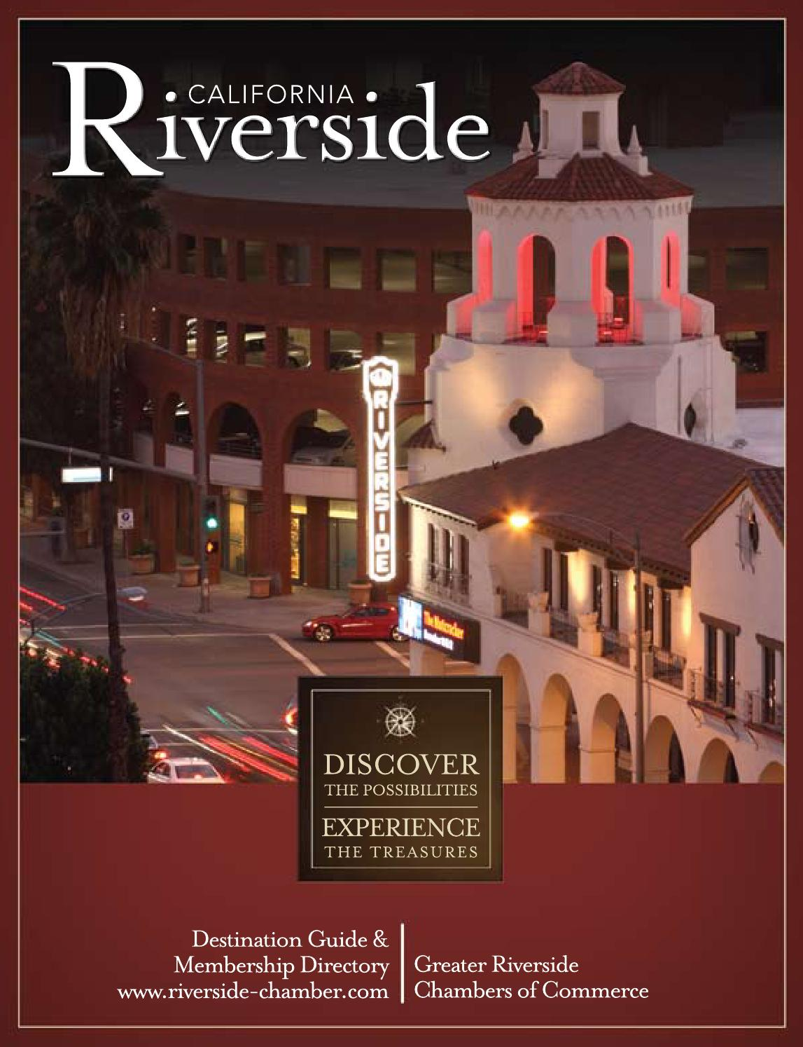 Riverside Destination Guide Business Directory 2011 2012 By