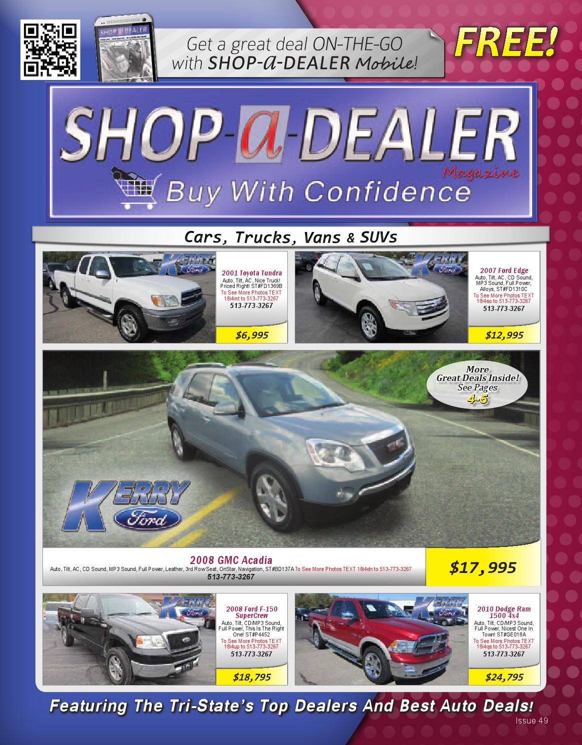 Shop A Dealer Magazine 49-2013 by Shop A Dealer Magazine - issuu
